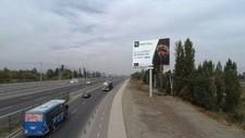 Ruta 5 norte acceso Santiago / Peaje Lampa