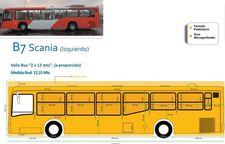 Circuito Troncal 1 y 4 - 50 Vallas de buses