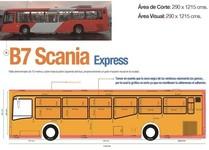 Circuito  Troncal 1 y 4 - 100 Full branding en Buses