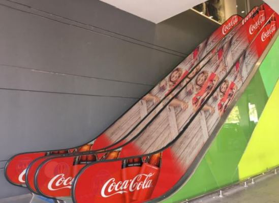 Foto de Escalera Mecánica Estacionamiento Jumbo - Paseo Los Domínicos