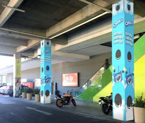 Foto de 4 Pilares Estacionamiento Jumbo - Paseo Los Domínicos
