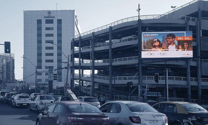 Foto de LED - Fachada Mall Plaza Vespucio (1)