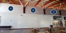 Thumb letrero retro iluminado cara simple sector hall 1 nivel 3r 3s 3t 1