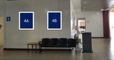 Thumb letrero retro iluminado cara simple sector hall 1 nivel 4a 4b 1