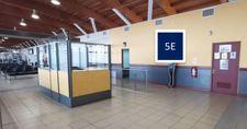 Letrero, cara simple / Sector Embarque - Aeropuerto Arica