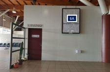 Letrero retro-iluminado, cara simple / Hall Público 2° nivel - Aeropuerto Arica