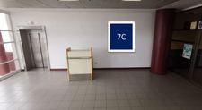 Thumb letrero cara simple sector pasillo llegada internacional aeropuerto arica 1