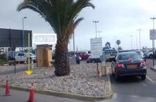 Thumb letrero en jardines frontis terminal de pasajeros aeropuerto la serena 2b 1