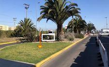 Thumb letrero en jardines frontis terminal de pasajeros aeropuerto la serena 5 1