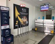 Thumb letrero en sector check in aeropuerto la serena 1