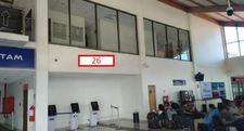 Thumb letrero en sector self check in muro en altura aeropuerto la serena 1
