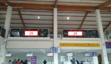 Thumb letrero en barandas restoran 2do piso aeropuerto la serena 1