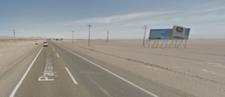 Entrada Sur Iquique  km 1811,66