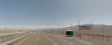 Entrada Norte Antofagasta km 1.382,190