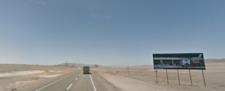 Entrada Sur Antofagasta  km 1349,7