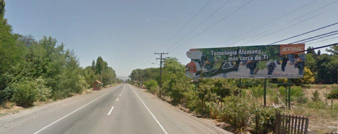 Foto de Ruta 90 Km 30,600 hacia a Santa Cruz