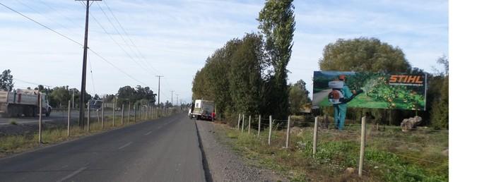Foto de Salida Norte Curico  km 172,900