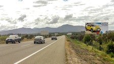 Ruta F-90 dirección Santiago