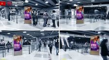 Totem Digital Bifaz - Estación Tobalaba L1 (4)