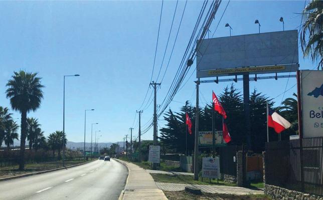 Foto de Salida Norte Coquimbo direccional a La Serena