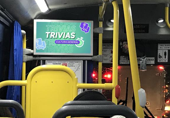 Foto de Circuito de 10 pantallas en Taxibuses  / Temuco - Padre de las Casas