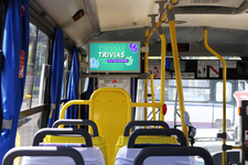 Circuito de 20 pantallas en Taxibuses  / Temuco - Padre de las Casas