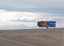 Ruta 25, Entrada Sur Calama km 97,2