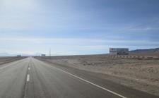 Ruta 25, Entrada Sur Calama km 96,9
