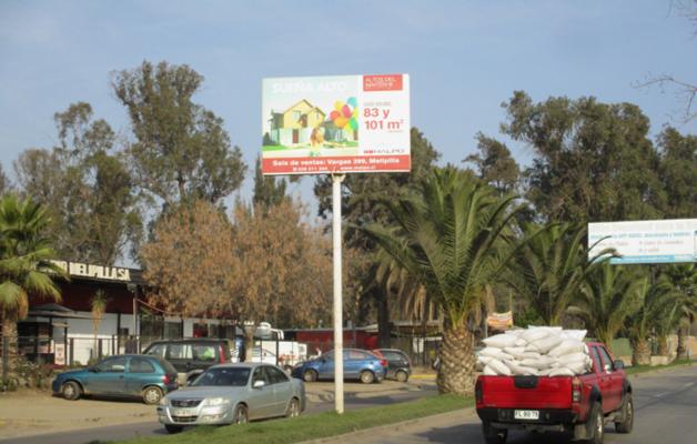 Foto de Bandejón Central  calle  Ortúzar