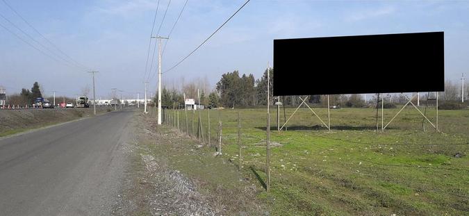 Foto de Caminero Monumental/ Entrada Sur Sexta Región / Ruta 5 Sur Km.161,100