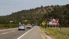 Ruta F-90 dirección algarrobo