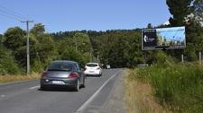 Ruta Villarrica - Pucón Km 70.300 sector Correntoso