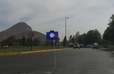 Av. El Valle - Rotonda Chamisero-bandejón central frente a Tottus - vista norte