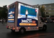 Camion Led que transita en todas las comunas con 3 caras en dos horarios AM o PM