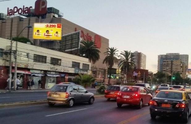 Foto de Gran Avenida costado Mall Espacio Urbano (paradero 16)