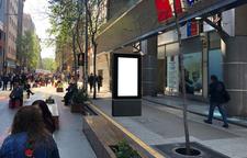 Paseo Bandera frente al 125 / Moneda - 20 Caras Digitales