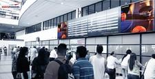 VIDEO WALL Teleinicador Internacional - Aeropuerto Nuevo Pudahuel (2)