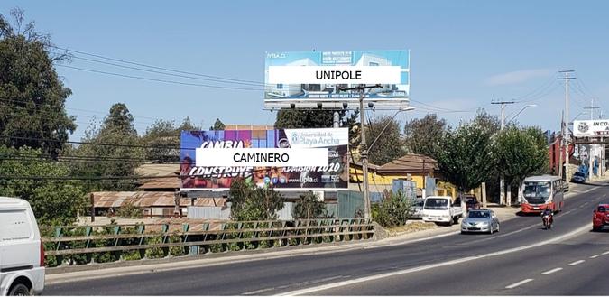 Foto de Av. Los carrera- Paso Hondo hacia Quilpué