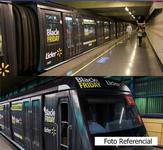 E: Extrerior Tren NS-07 / L1 San Pablo - Los Domínicos (9) (CAF)