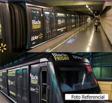 E: Extrerior Tren NS-93 / L1 San Pablo - Los Domínicos (8) (BOA)
