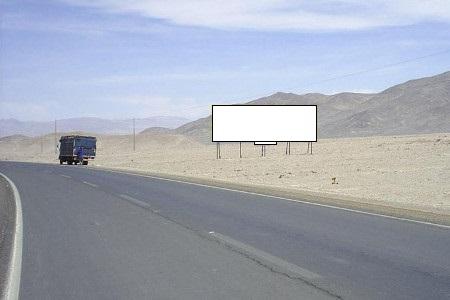 Acceso a Calama desde Chuquicamata