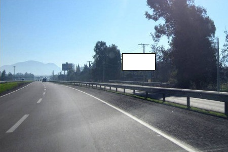 Carretera San Martín desde Chicureo hacia Colina