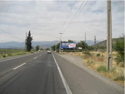 Ruta 60 Camino Internacional, Sector Panquehue