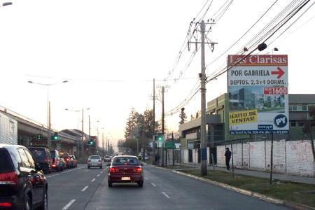 Entrada Norte Av. Concha y Toro/El Peñon Chico