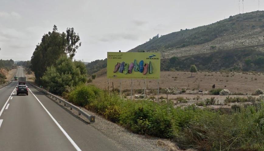 Foto de Ruta F20 Nogales Km 22,9 hacia la costa
