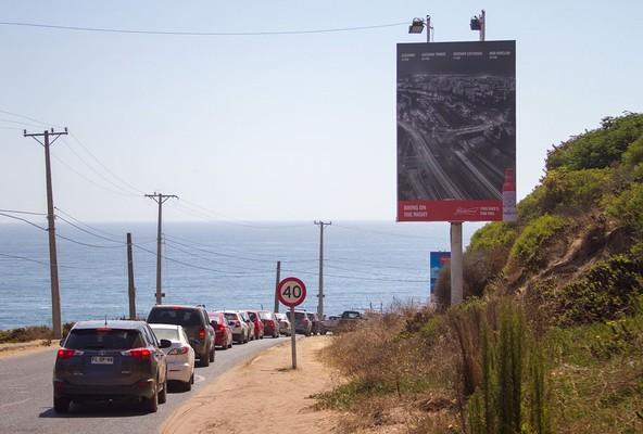 Foto de Bajada Aguas Blancas, costado cerro Tacna