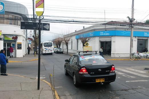 Foto de Indicador de calles,Salinas - Freire, San Felipe