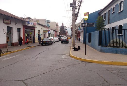 Foto de Indicador de calles, Coimas - Freire, San Felipe