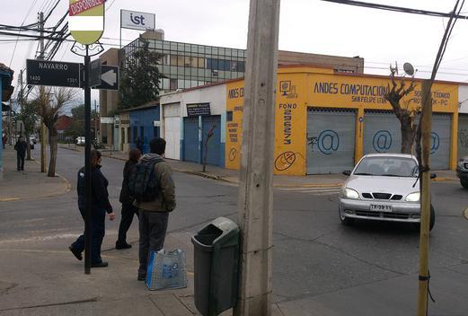 Foto de Indicador de calles, Navarro - Merced, San Felipe