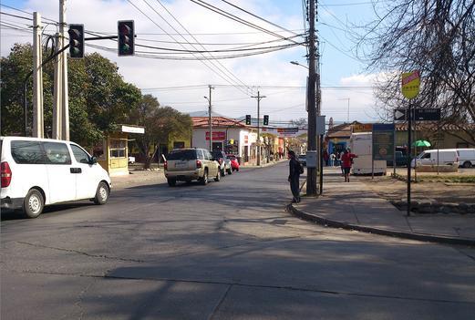Foto de Indicador de calles, Av. Yungay - Prat, San Felipe